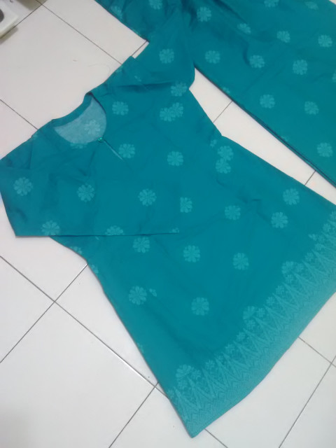 Photo 1 of Pesak gantung.. PG-7702 Baju kurung pesak gantung.. Meterial songket cotton