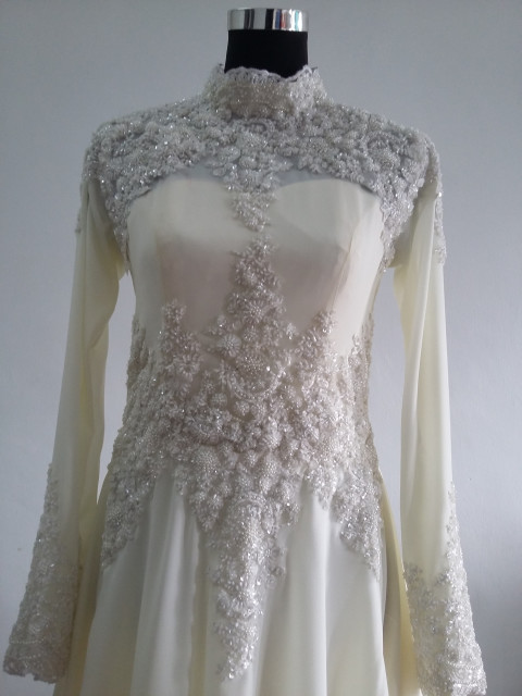 Photo 2 of  TP-267001 Baju pengantin.n full lining n lace..veil n shawl..